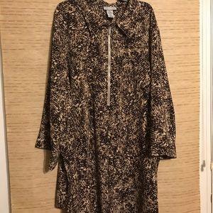 Catherine's Brown & Tan tunic